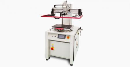 Green Energy Silicon Wafer Screen Printer - Correspondence with silicon wafer (mono crystallized & multi-crystallized) solar cell industry, mid stream solar cell electrode screen printing process.