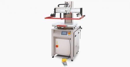 电动迷你平板打印机(MAX PURINING A区300x450 mm) - 电动迷你平板打印机,压缩空气的低耗尽,屏幕垂直快速达到精确定位,数字控制HMI