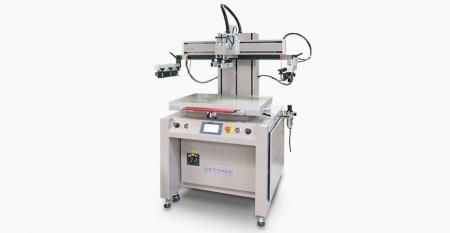 Pneumatic Flat Screen Printer - Possessed of competitive pricing and suitable for various type industrial product printing, it is the most satisfied within industry as first choice
