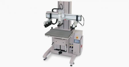 机壳平面网印机 - 适用网印立体成型机壳,如电脑外壳、电视机外壳、家电成型品…等之平面印刷。