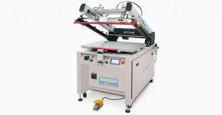 高速クラムシェルスクリーン印刷機