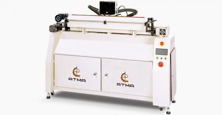 デジタル全自動スキージ削り(最大研削ストローク1000mm) - デジタル制御の全自動タイプのデュアルファインネスダイヤモンドホイールにより、高速で微細な研削が可能で、印刷品質が保証されます。