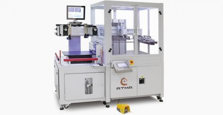 """מדפסת מסך רושמת CCD אוטומטית לחלוטין (שטח הדפסה מקסימלי 400x400 מ""""מ) - מוצר מגוון ממומש של לוח מגע שמטרתו לפתח משקל קל, גודל דק וקל כדי לספק את המטרה של ייצור מסיבי של הלקוח."""