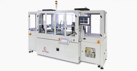 光電子ガラス用の全自動CCD登録スクリーン印刷機 - 自動生産というお客様の目標を十分に満たした、軽量・スリム・小型開発が容易なタッチパネル多様な製品を実現