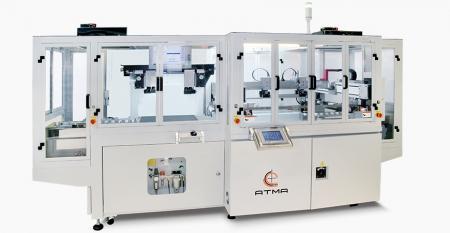全自动CCD定位导电玻璃丝印机-实现触摸控制多种产品向轻、薄、短、小方向发展,充分满足客户大批量生产的目标。