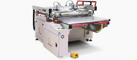 半自動スクリーン印刷機 - ATMA4ポストスライディングテーブルスクリーンプリンター