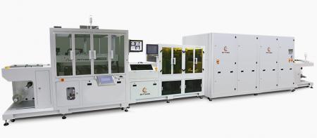קו הדפסת מסך אוטומטי במלואו - FPC קו הדפסה אוטומטי של גליל לגליל