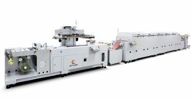 Roll-to-Roll Screen Printing Line