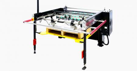 SPS Automatic Twin-flow Sheet Stacker (max. sheet: twin-flow 550X267mm, single-flow 550X750mm) - SPS  STK AS57/t Automatic Twin-flow Sheet Stacker