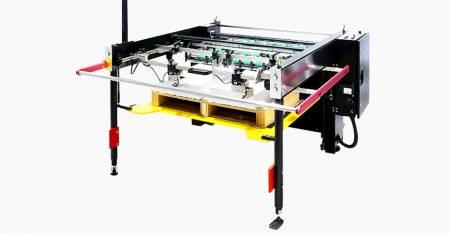 SPS自動ツインフローシートスタッカー(最大シート:ツインフロー550X267mm、シングルフロー550X750mm)
