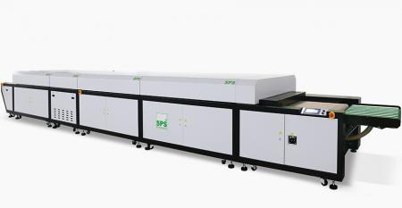 Máy sấy kết hợp SPS Jet Air + UV (chiều rộng làm việc 800mm) - SPS CBS 57 Máy sấy kết hợp Jet Air + UV