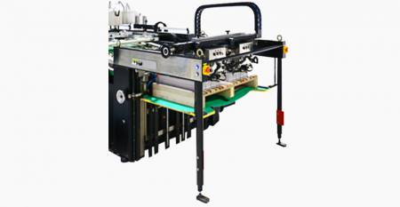 מזין איסוף אחורי SPS Twin-flow (גיליון מקסימלי: Twin-flow 520X500mm, single-flow 750X1060mm)