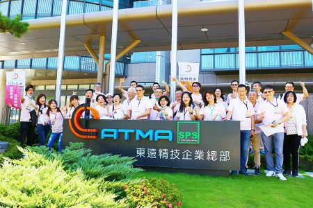 Photo of group visiting at ATMA headquarters