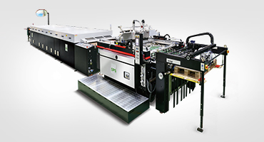 Stop Cylinder Screen Printing Line
