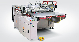 Screen Printer with Gripper Take-off