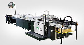 Imprimante d'écran à cylindre d'arrêt