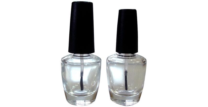 GH17 683 - GH15 683: Botellas de esmalte de uñas de vidrio con forma de OPI de 15 ml