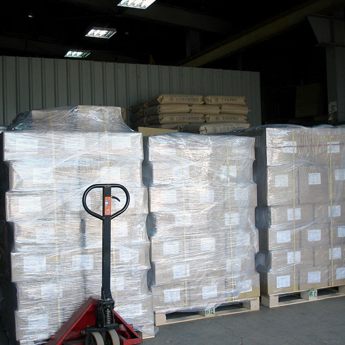 Pallets are packed well for shipment