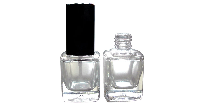 GH23 719: 10ml Square Glass Bottle with 13/415 Neck Size