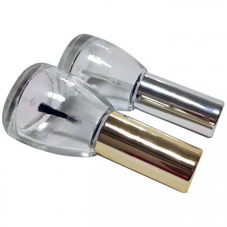 GH12P 603: زجاجة سعة 13 مللي بغطاء فضي أو ذهبي