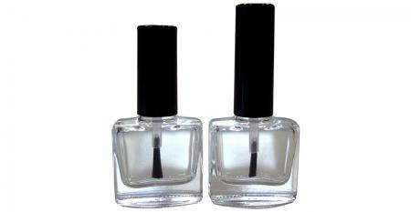 10ml Flat Square Shaped Nail Polish Bottle - GH03 614 - GH19 614: 10ml Flat Square Shaped Nail Polish Bottle