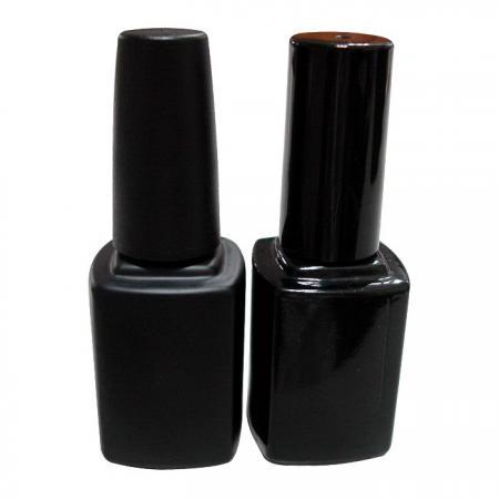 GH15 620MB - GH12 620BB: Botella negra mate y brillante de 12 ml