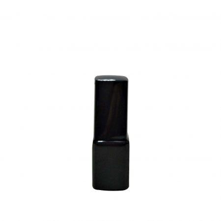GH23 632BB : flacon noir de 7 ml avec bouchon carré