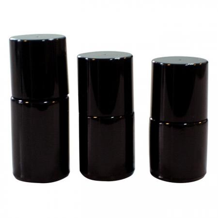 GH16 649BB – GH16 612BB – GH16 660BB: 15ml, 10ml, and 8ml Black Bottles
