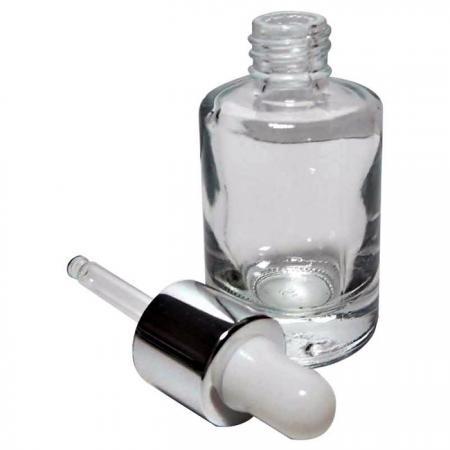GH649TD: 12ml Glasflasche mit Tropfer
