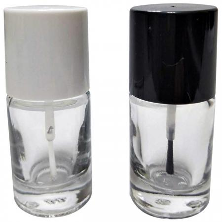 GH16 649T: 12ml Round Glass Bottle with thicker bottom