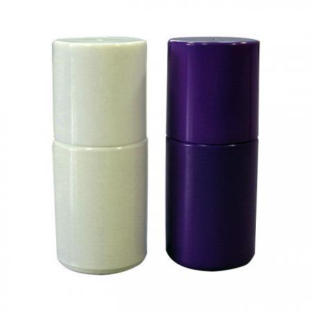 GH16 649WW – GH16P 649PP : Flacons blancs et violets de 15 ml