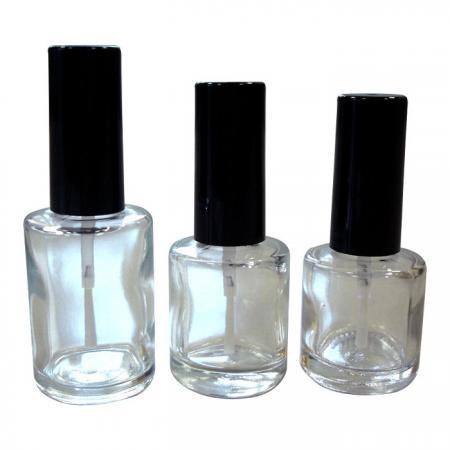 GH03 649 – GH03 612 – GH03 660: flacons de vernis en verre de 15 ml, 10 ml et 8 ml