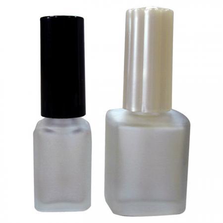 GH03 632F - GH22 650F: Botella de vidrio esmerilado de 7 ml y 15 ml con tapa y cepillo