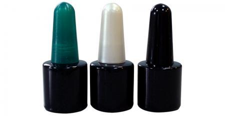 8ml leere UV-Gelpolierflasche - GH05 660BB: 8ml leere UV-Gelpoliermittel schwarze Flasche