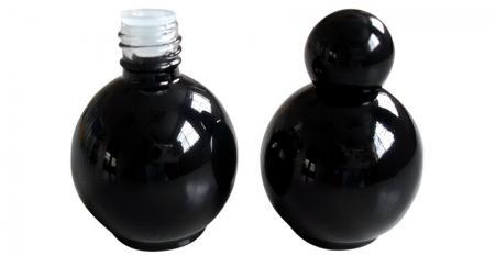 Bottiglia vuota di smalto per unghie in gel UV LED a forma di palla da 15 ml - GH18 664BB: Bottiglia vuota per smalto gel UV LED a forma di palla da 15 ml
