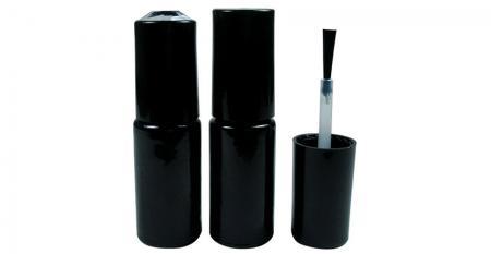 3ml zylindrisch geformte leere Nagelgelflasche aus Glas - GH07 666BB - GH08 666BB: 3ml zylinderförmige leere Nagelgelflaschen aus Glas