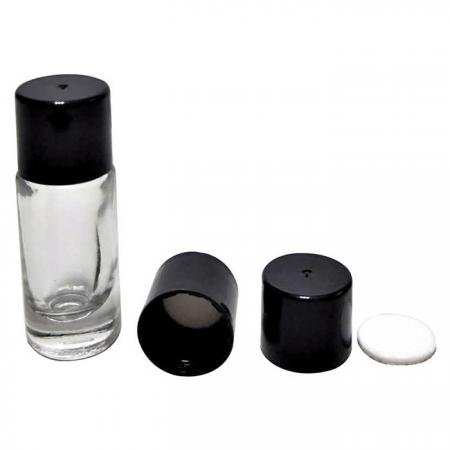 GH13 666: 3ml Glass Bottle with Cap and EPE Liner