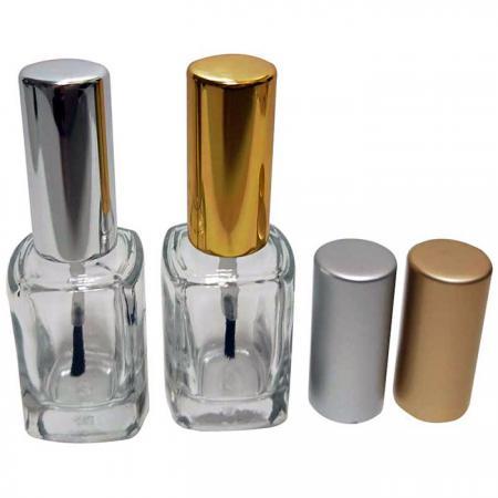GH03A 720: Botella de vidrio de 12 ml con tapa de aluminio