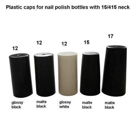 15/415 Nail Polish Plastic Caps
