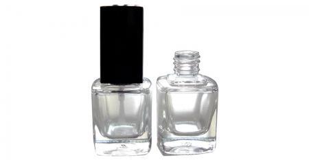 Glasflaschen mit 13/415 Hals - GH23 719: 10 ml quadratische Glasflasche mit 13/415 Halsgröße