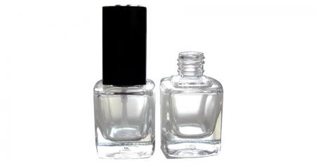 Glass Bottles with 13/415 Neck - GH23 719: 10ml Square Glass Bottle with 13/415 Neck Size