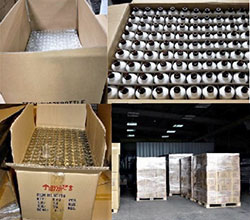 Bottle Packaging Process