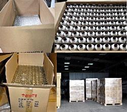 Processus d'emballage de bouteilles