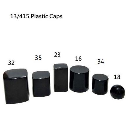 13/415 Tapas de plástico para esmalte de uñas