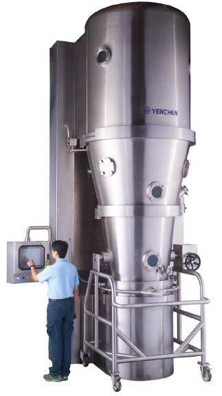 流動層底噴(Wurster)關鍵機器或系統參數 - Wurster