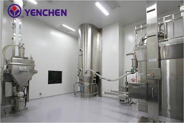 高剪断造粒機(SMG)から流動床乾燥機(FBD)への直接移送 - 高剪断造粒機(SMG)から流動床乾燥機(FBD)への直接移送