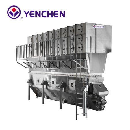 Continuous Fluid Bed Dryer
