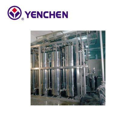 Sistema de agua destilada