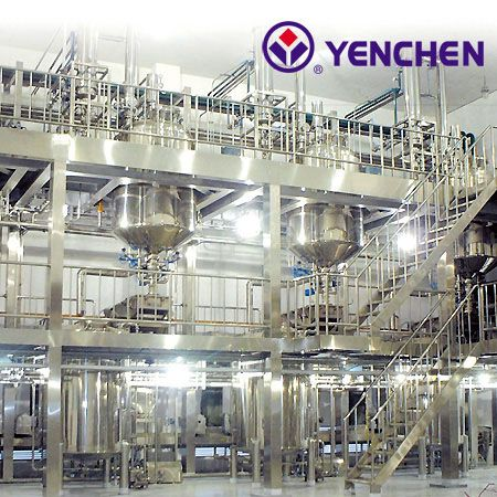 Extraction & Concentration, Granulation Turnkey Equipment