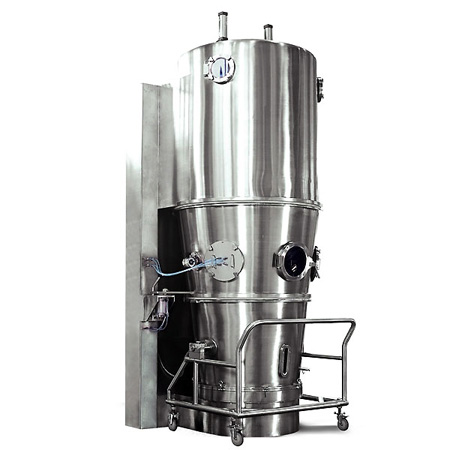 Secador de lecho fluido, granulador, revestidor